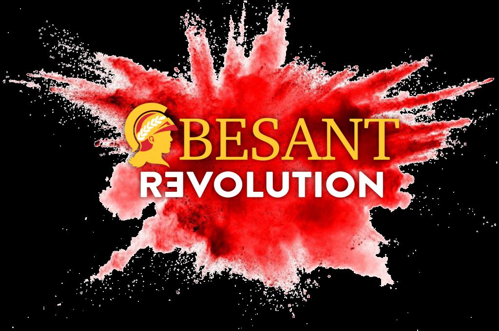 Logo vettoriale besant revolution